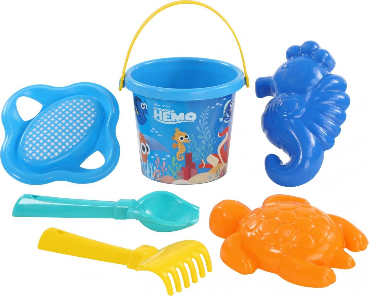 Disney / Pixar Набор игрушек для песочницы В поисках Немо №3 умка disney в поисках немо приключения в океане
