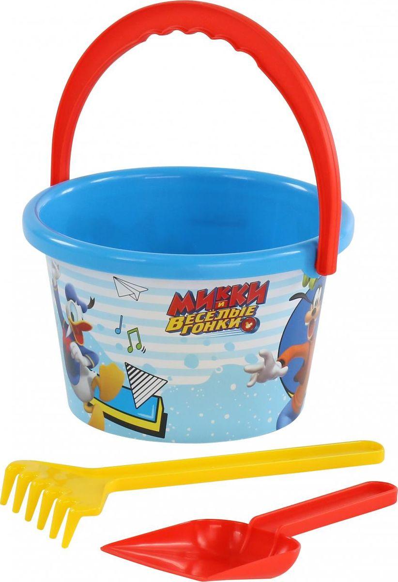 Disney Набор игрушек для песочницы Микки и Веселые гонки №5 игра настольная веселые гонки и божьи коровки
