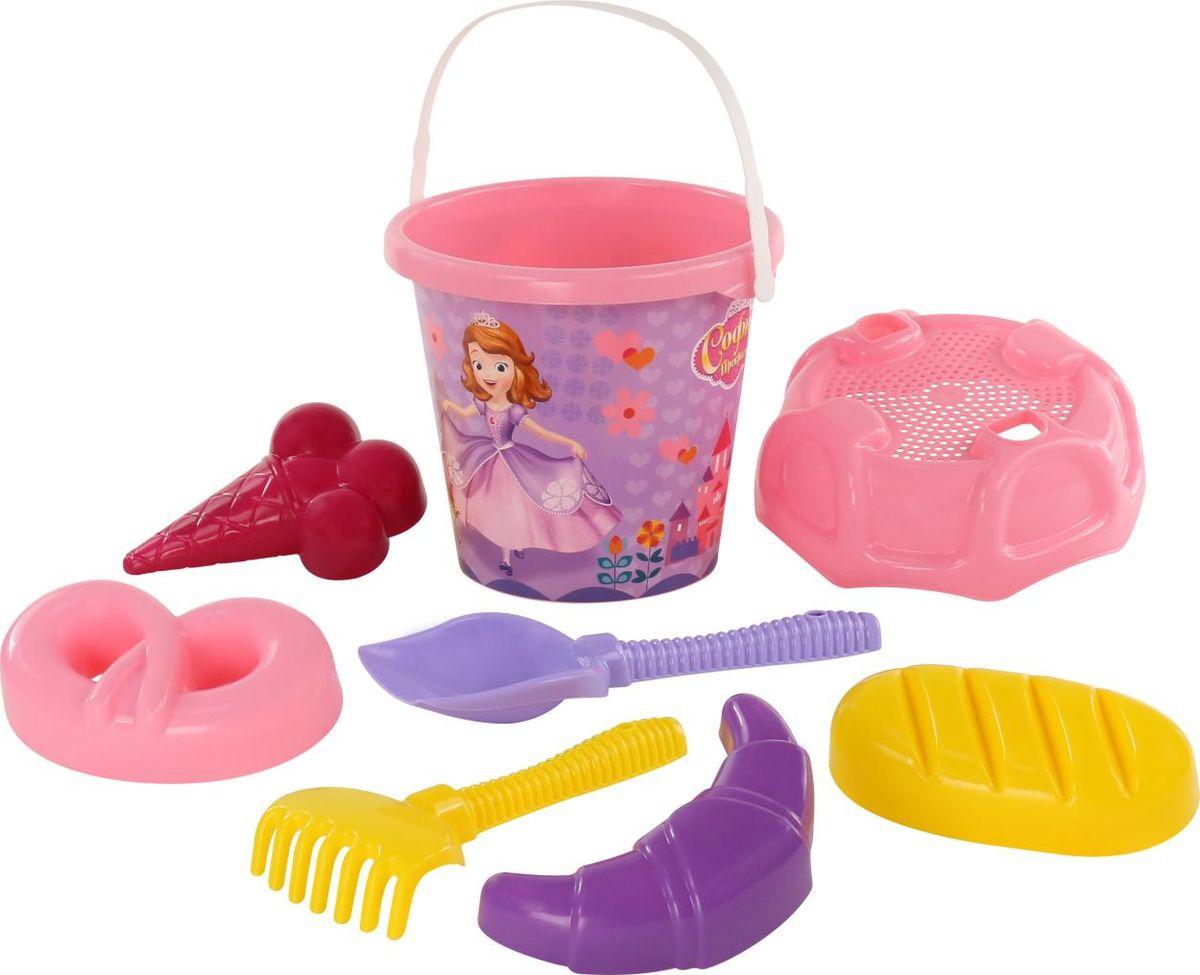 Disney Набор игрушек для песочницы София Прекрасная №2 marvel набор игрушек для песочницы софия прекрасная 1