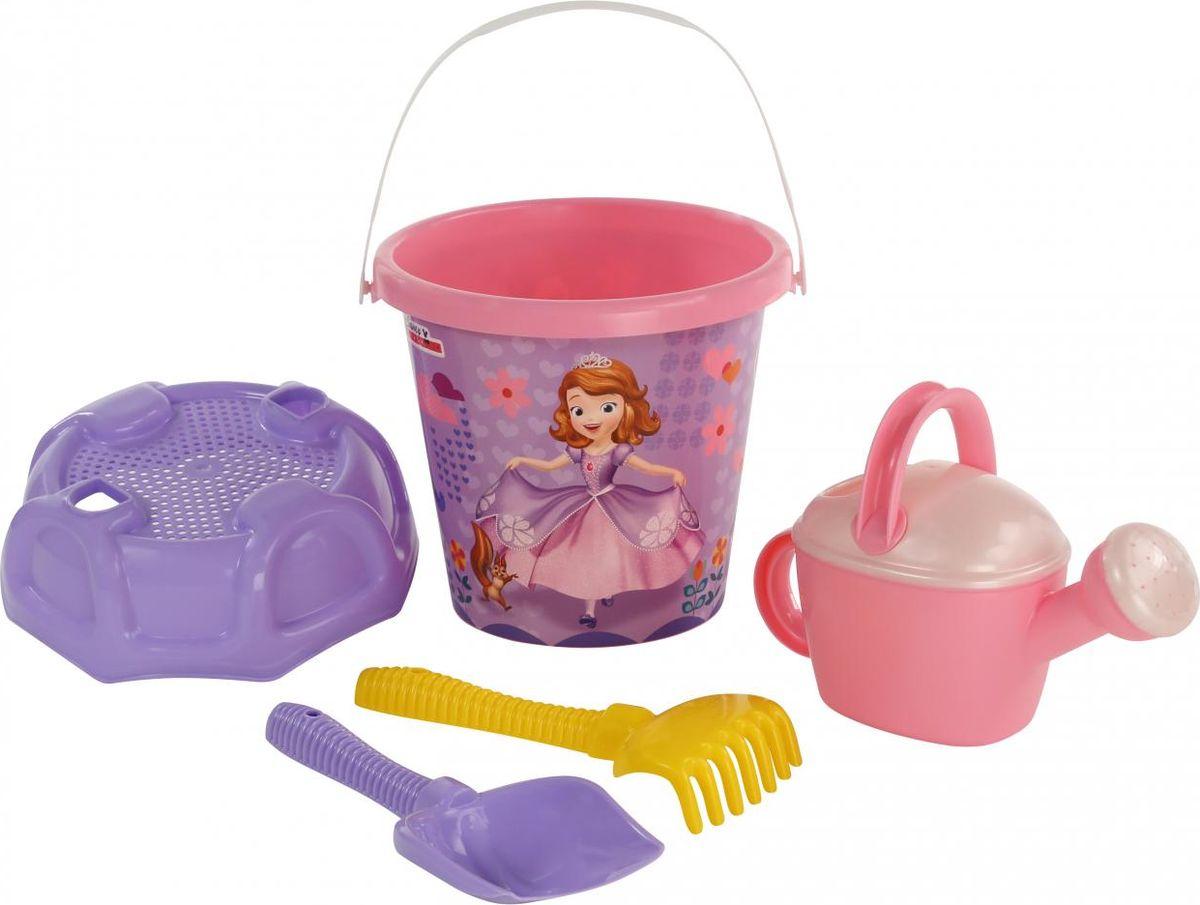 Disney Набор игрушек для песочницы София Прекрасная №3 marvel набор игрушек для песочницы софия прекрасная 1