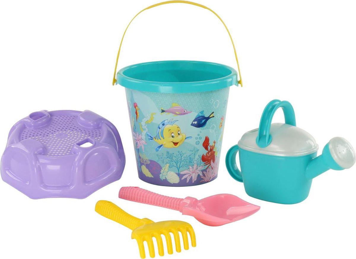 Disney Набор игрушек для песочницы Русалочка №7 цена