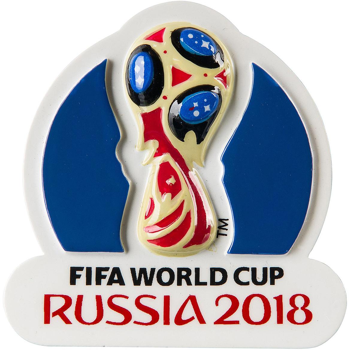 """Магнит FIFA 2018 """"Кубок"""" - сувенир для поклонников футбола. Отличный подарок на память о Чемпионате Мира 2018."""