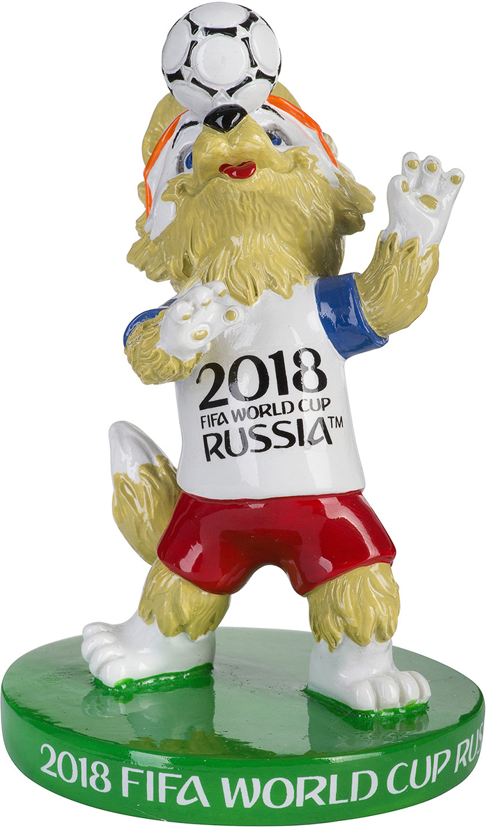 """Статуэтка FIFA 2018 """"Забивака. Без рук!"""" - символ Чемпионата Мира по футболу 2018. Отличный сувенир на память о Чемпионате."""