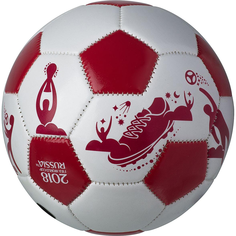 Мяч сувенирный FIFA 2018 Пиктограммы, 12 смСН068Яркий мяч - отличный подарок ребёнку. Несомненно подарит массу эмоций. Также хороший подарок для любителей футбола и болельщиков постарше, они будут не менее рады такому презенту.