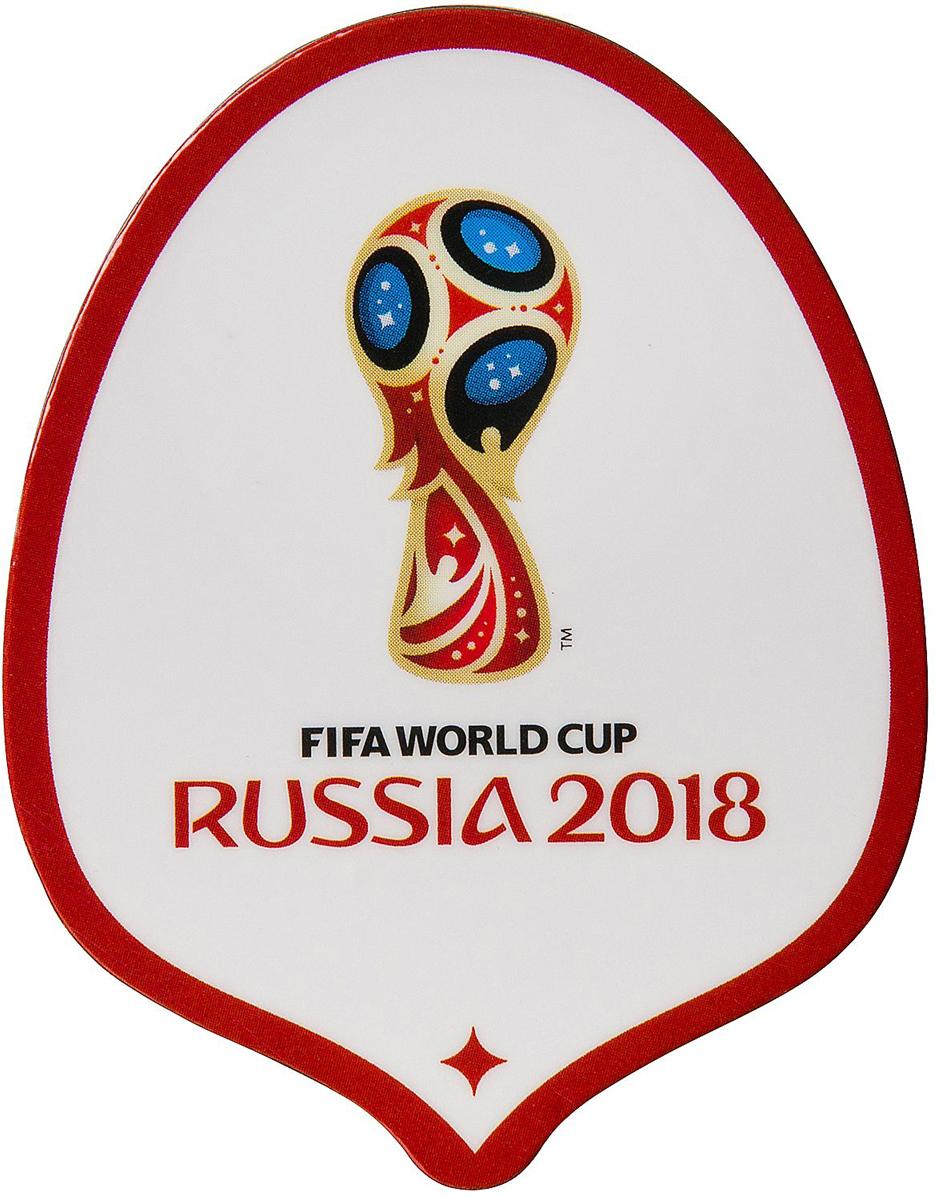 Магнит сувенирный FIFA 2018 Забивака Удар!, 8 х 11 см. СН512