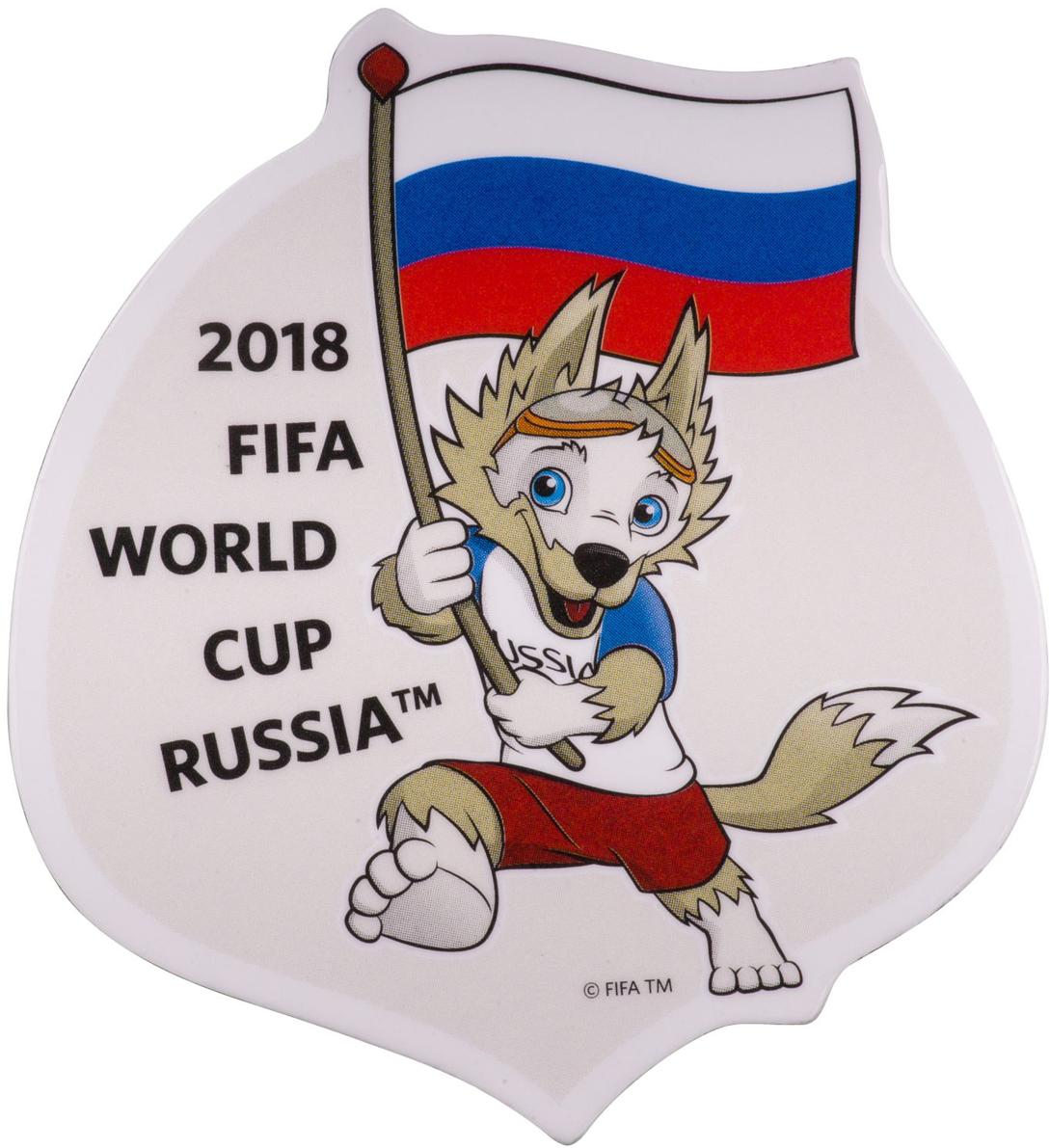 Магнит сувенирный FIFA 2018 Забивака Класс!, 8 х 11 см. СН518