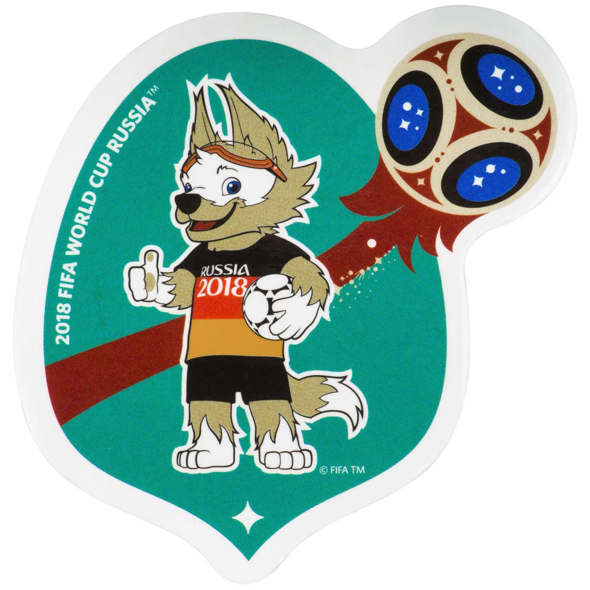 Самое большое количество сыгранных матчей на ЧМ принадлежит сборной Германии - 99 штук. Забивака поддерживает рвение немецкой сборной к победе! Если ты тоже болеешь за одну из команд-фаворитов, покажи это стильным магнитом с Забивакой в форме Германии.