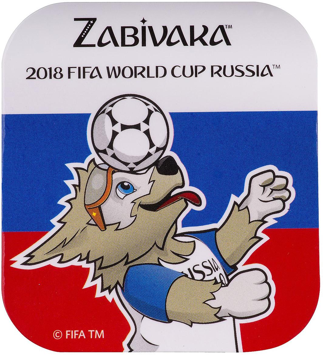 Магнит сувенирный FIFA 2018 Забивака Улыбайся!, 8 х 11 см. СН531
