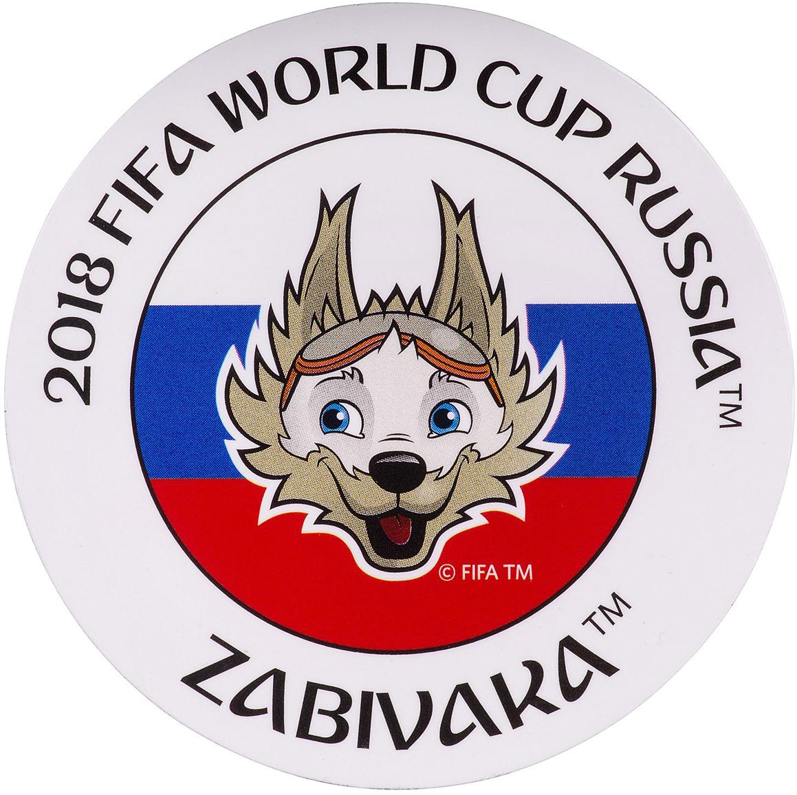 Магнит сувенирный FIFA 2018 Кубок, 8 х 11 см. СН534