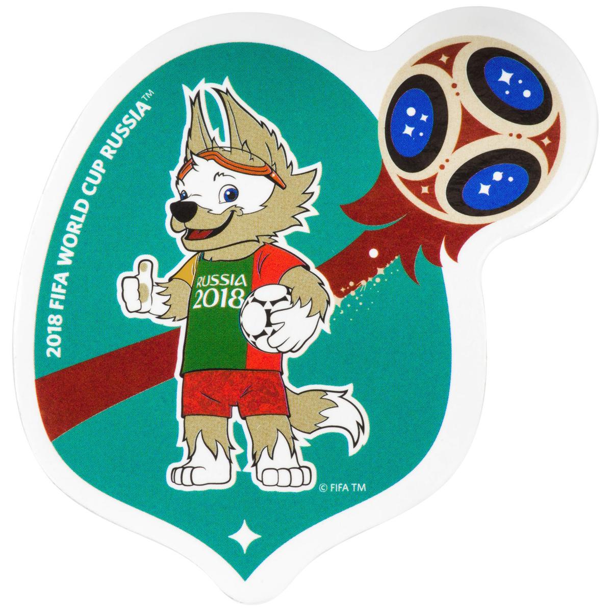 Магнит сувенирный FIFA 2018 Забивака Хорватия, 8 х 11 см. СН540 iphone 4 в хорватии