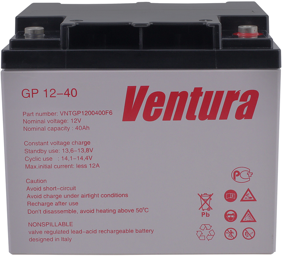 Ventura GP 12-40 аккумуляторная батарея для ИБП - Источники бесперебойного питания (UPS)