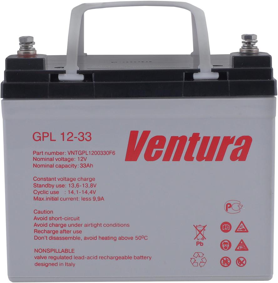 Ventura GPL 12-33 аккумуляторная батарея для ИБП - Источники бесперебойного питания (UPS)