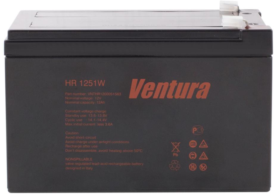Ventura HR 1251W аккумуляторная батарея для ИБП