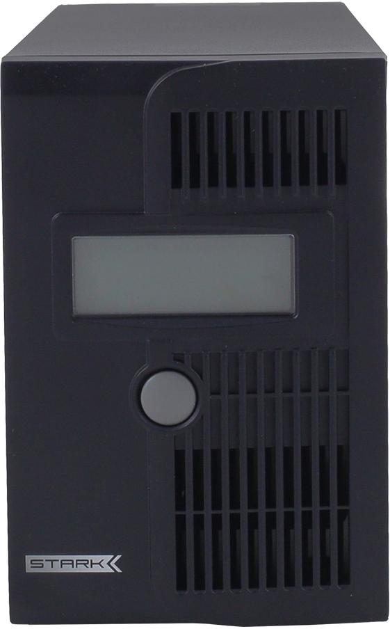 """Stark Country 600 источник бесперебойного питанияStark Country 600Источники бесперебойного питания Stark Country Line-Int относятся к группе """"Линейно Интерактивных ИБП"""". Данные источники бесперебойного питания выполнены по схеме с коммутирующим устройством (Off-Line) и дополненный автоматическим регулятором напряжения (AVR) на основе автотрансформатора с переключаемыми обмотками (ступенчатым стабилизатором). В случае понижения напряжения на входе (Uвх) функция стабилизации будет ступенчато повышать напряжение до необходимого значения. Если же напряжение на входе понизится очень существенно или же будет отсутствовать - ИБП переключится на работу от АКБ. Время переключения на работу от АКБ у ИБП такого типа может составлять от 4 до 10 мс. Форма сигнала на выходе представляет собой аппроксимированную (синтезированную) синусоиду. Источники Stark Country Line-Int также имеют в своем составе ступенчатый стабилизатор и работают а паре с внешними АКБ. Сам переход на работу от АКБ происходит только в случае пропадания питания на входе. Что, в итоге, при стандартных условиях обеспечивает относительно редкую эксплуатацию самой АКБ - таким образом продлевая срок ее службы. Еще одним преимуществом Stark Country Line-Int является их относительная простота и надежность, более низкая стоимость, а также высокий КПД в сетевом режиме. Так как данный тип источников имеет на выходе синтезированный синус, а также время """"задержки"""" при переключении на режим работы от АКБ составляет от 4 до 8 мс - их не рекомендуется использовать с потребителями, чувствительными к чистоте сигнала на выходе и кратковременным """"провалам"""" по напряжению (твердотопливные и газовые котлы, скважные насосы, цифровая техника и пр.). Однако они прекрасно подходят для простых устройств, некритичных к отклонениями напряжения на выходе и/или провалам питания. Для приложений, когда требуется невысокая мощность на длительное время автономии. Например, циркуляционные насосы солнечных коллекторов, автономное освещение и пр.Ф"""