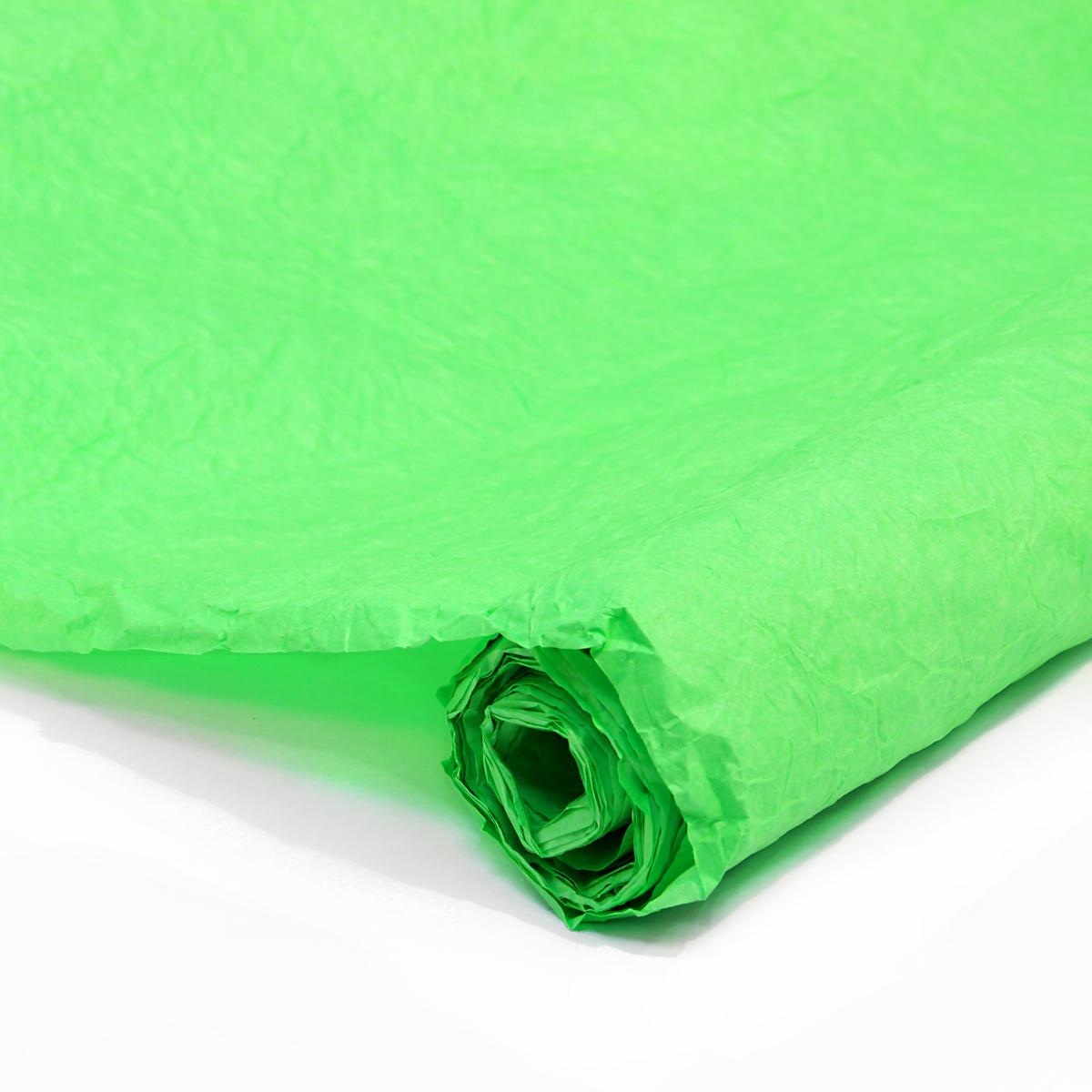 Бумага упаковочная Veld-Co Эколюкc, цвет: салатовый, 70 см х 5 м44102Бумага Veld-Co Эколюкc - это универсальный материал дляупаковки подарков и оформления букетов. Она достаточноплотная и в тоже время пластичная. Благодаря органичнойфактуре, великолепно ложится и на нестандартные формы(круглые, овальные). Эта бумага хорошо комбинируется с другими материалами. Её можноиспользовать в качестве декоративных элементов. К ней легко подобратьаксессуары - подойдут натуральные шнуры, рафия, ленты (репсовая,шёлковая, хлопковая). Благодаря этому материалу - мастер выполнитлюбую задачу, поставленную перед ним. Ко всему прочему- бумагу в рулоне удобнее хранить, использовать,транспортировать.