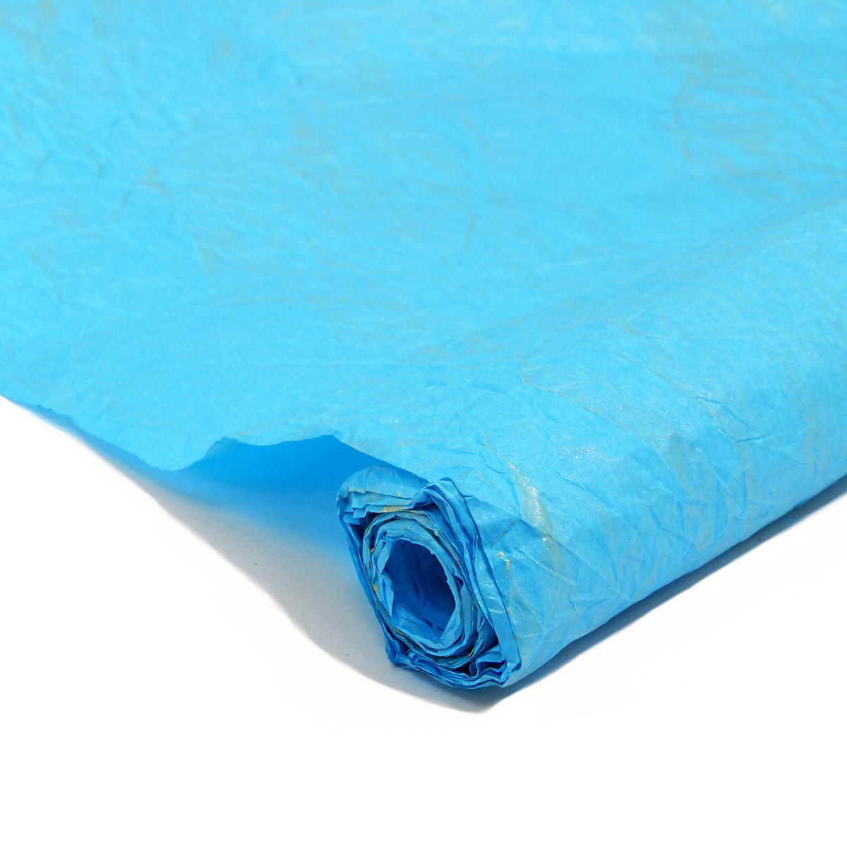 Бумага упаковочная Veld-Co Эколюкc, цвет: голубой, золотистый, 70 см х 5 м44131Бумага Veld-Co Эколюкc - это универсальный материал дляупаковки подарков и оформления букетов. Она достаточноплотная и в тоже время пластичная. Благодаря органичнойфактуре, великолепно ложится и на нестандартные формы(круглые, овальные). Эта бумага хорошо комбинируется с другими материалами. Её можноиспользовать в качестве декоративных элементов. К ней легко подобратьаксессуары - подойдут натуральные шнуры, рафия, ленты (репсовая,шёлковая, хлопковая). Благодаря этому материалу - мастер выполнитлюбую задачу, поставленную перед ним. Ко всему прочему- бумагу в рулоне удобнее хранить, использовать,транспортировать.