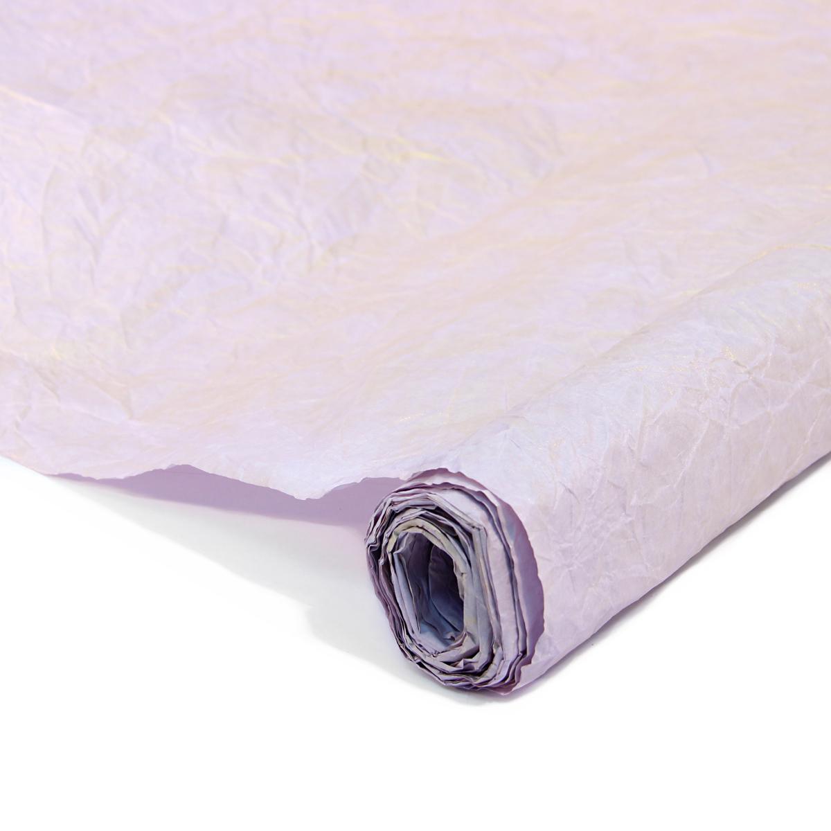 Бумага упаковочная Veld-Co Эколюкc, цвет: сиреневый, золотистый, 70 см х 5 м44150Бумага Veld-Co Эколюкc - это универсальный материал дляупаковки подарков и оформления букетов. Она достаточноплотная и в тоже время пластичная. Благодаря органичнойфактуре, великолепно ложится и на нестандартные формы(круглые, овальные). Эта бумага хорошо комбинируется с другими материалами. Её можноиспользовать в качестве декоративных элементов. К ней легко подобратьаксессуары - подойдут натуральные шнуры, рафия, ленты (репсовая,шёлковая, хлопковая). Благодаря этому материалу - мастер выполнитлюбую задачу, поставленную перед ним. Ко всему прочему- бумагу в рулоне удобнее хранить, использовать,транспортировать.