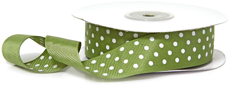 Лента декоративная Veld-Co, репсовая, цвет: зеленый, 2,5 см х 22 м48708Декоративная лента Veld-Co предназначена для оформления подарочных коробок, пакетов. Кроме того, декоративная лента с успехом применяется для художественного оформления витрин, праздничногооформления помещений, изготовления искусственных цветов.Декоративная лента украсит интерьер вашего дома к любым праздникам.Ширина ленты: 25 мм.