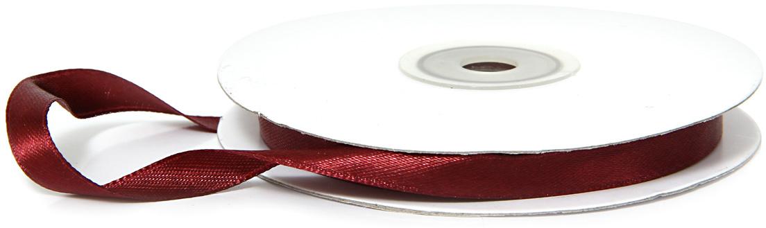 Лента декоративная Veld-Co, атласная, цвет: бордовый, 0,9 см х 30 м48722Декоративная лента Veld-Co предназначена для оформления подарочных коробок, пакетов. Кроме того, декоративная лента с успехом применяется для художественного оформления витрин, праздничногооформления помещений, изготовления искусственных цветов.Декоративная лента украсит интерьер вашего дома к любым праздникам.Ширина ленты: 9 мм.