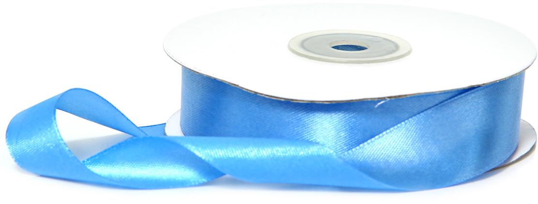 Лента декоративная Veld-Co, атласная, цвет: голубый, 1,8 см х 30 м48755Декоративная лента Veld-Co предназначена для оформления подарочных коробок, пакетов. Кроме того, декоративная лента с успехом применяется для художественного оформления витрин, праздничногооформления помещений, изготовления искусственных цветов.Декоративная лента украсит интерьер вашего дома к любым праздникам.Ширина ленты: 18 мм.