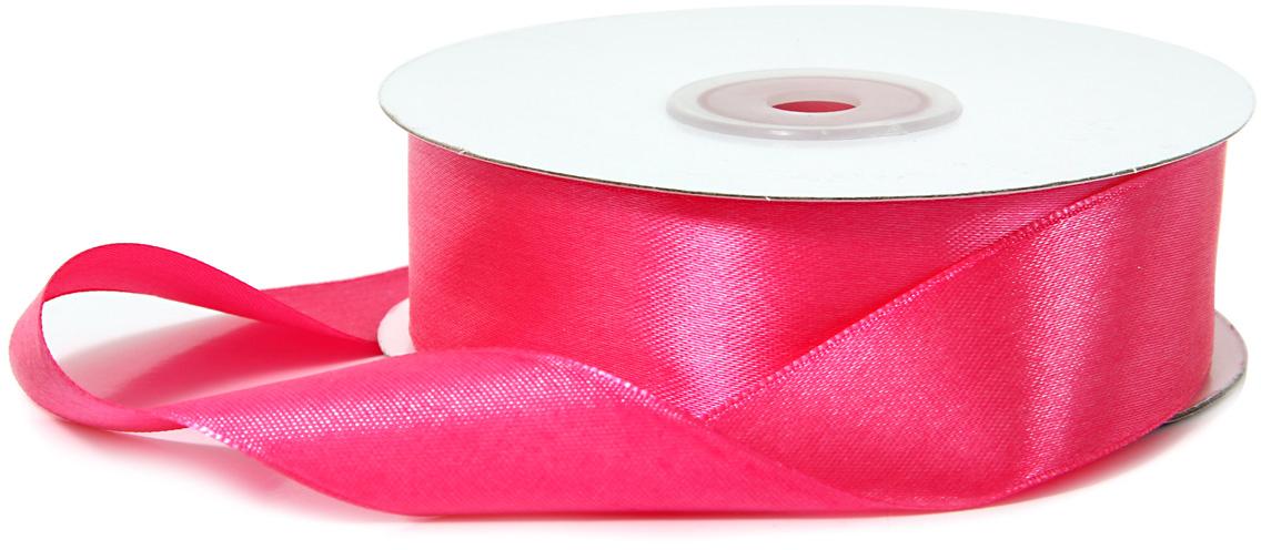 Лента декоративная Veld-Co, атласная, цвет: ярко-розовый, 2,5 см х 30 м48763Декоративная лента Veld-Co предназначена для оформления подарочных коробок, пакетов. Кроме того, декоративная лента с успехом применяется для художественного оформления витрин, праздничногооформления помещений, изготовления искусственных цветов.Декоративная лента украсит интерьер вашего дома к любым праздникам.Ширина ленты: 25 мм.
