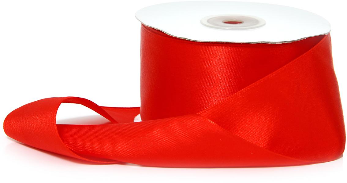 Лента декоративная Veld-Co, атласная, цвет: ярко-красный, 5 см х 30 м48779Декоративная лента Veld-Co предназначена для оформления подарочных коробок, пакетов. Кроме того, декоративная лента с успехом применяется для художественного оформления витрин, праздничногооформления помещений, изготовления искусственных цветов.Декоративная лента украсит интерьер вашего дома к любым праздникам.Ширина ленты: 50 мм.