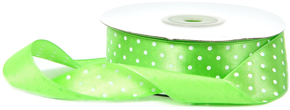 Лента декоративная Veld-Co, атласная, цвет: салатовый, 2,5 см х 30 м48789Декоративная лента Veld-Co предназначена для оформления подарочных коробок, пакетов. Кроме того, декоративная лента с успехом применяется для художественного оформления витрин, праздничногооформления помещений, изготовления искусственных цветов.Декоративная лента украсит интерьер вашего дома к любым праздникам.Ширина ленты: 25 мм.