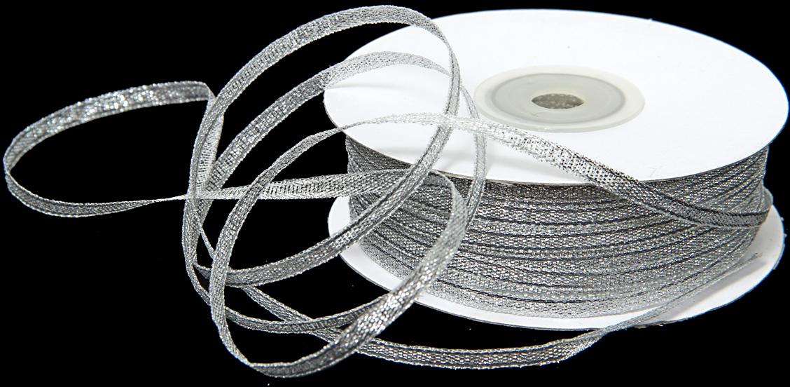Лента декоративная Veld-Co, парчовая, цвет: серебристый, 0,35 см х 90 м48869Декоративная лента Veld-Co предназначена для оформления подарочных коробок, пакетов. Кроме того, декоративная лента с успехом применяется для художественного оформления витрин, праздничногооформления помещений, изготовления искусственных цветов.Декоративная лента украсит интерьер вашего дома к любым праздникам.Ширина ленты: 35 мм.