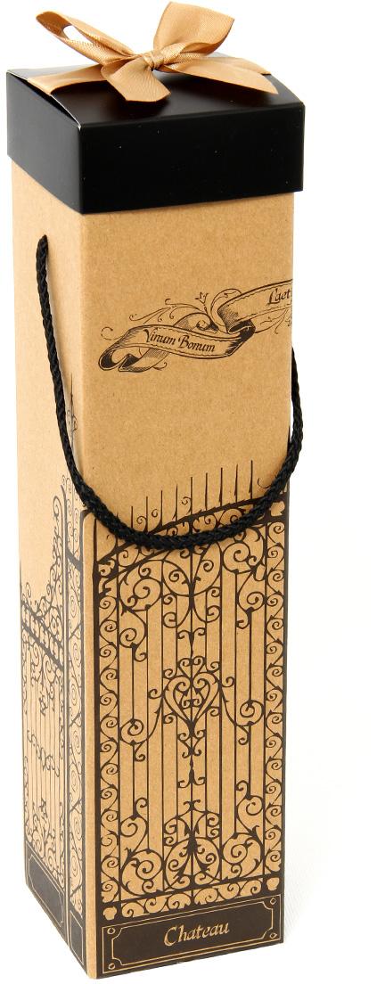 Коробка подарочная Veld-Co Giftbox. Трансформер. В старом парке, под бутылку, цвет: оранжевый, 34,4 х 8,2 х 8,2 см коробка подарочная veld co giftbox трансформер солнечное настроение цвет оранжевый 10 3 х 10 3 х 9 8 см