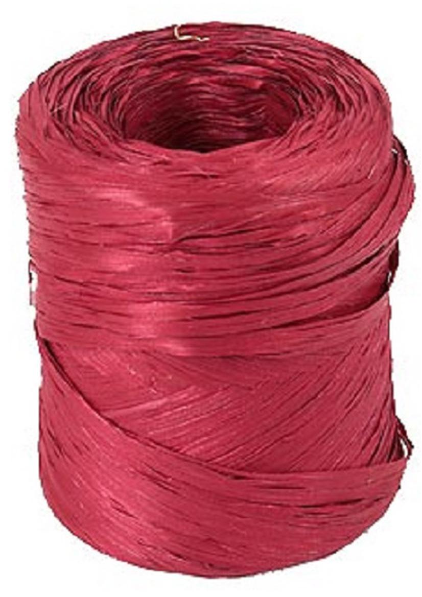 Рафия Veld-Co, цвет: бордовый, длина 200 м50054Рафия Veld-Co, изготовленная из ПВХ, широко применяется для упаковкиподарков, оформления цветочных композиций. Также подойдет и в декореработ в стиле скрапбукинг. Окрашенную в разные цвета рафию можноиспользовать в качестве ленты для украшения подарочных коробочек.