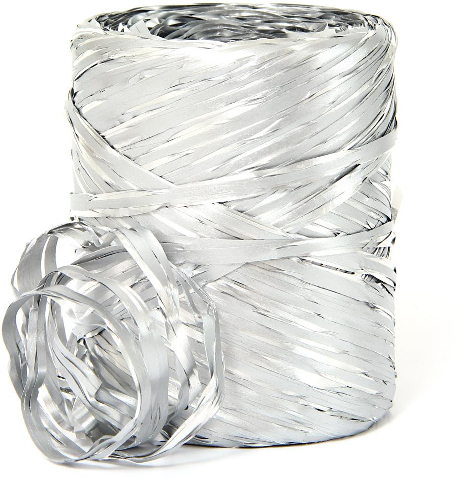 Рафия Veld-Co, цвет: серебристый, длина 200 м50065Рафия Veld-Co, изготовленная из ПВХ, широко применяется для упаковкиподарков, оформления цветочных композиций. Также подойдет и в декореработ в стиле скрапбукинг. Окрашенную в разные цвета рафию можноиспользовать в качестве ленты для украшения подарочных коробочек.