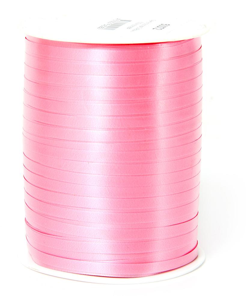 Лента полипропеленовая на бабине. Размер 0.48см х м, Цвет - розовая. Производство Италия.