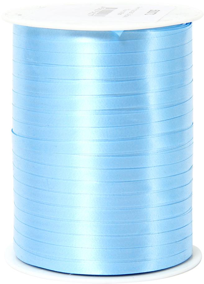 Лента полипропеленовая на бабине. Размер 0.48см х м, Цвет - голубая. Производство Италия.