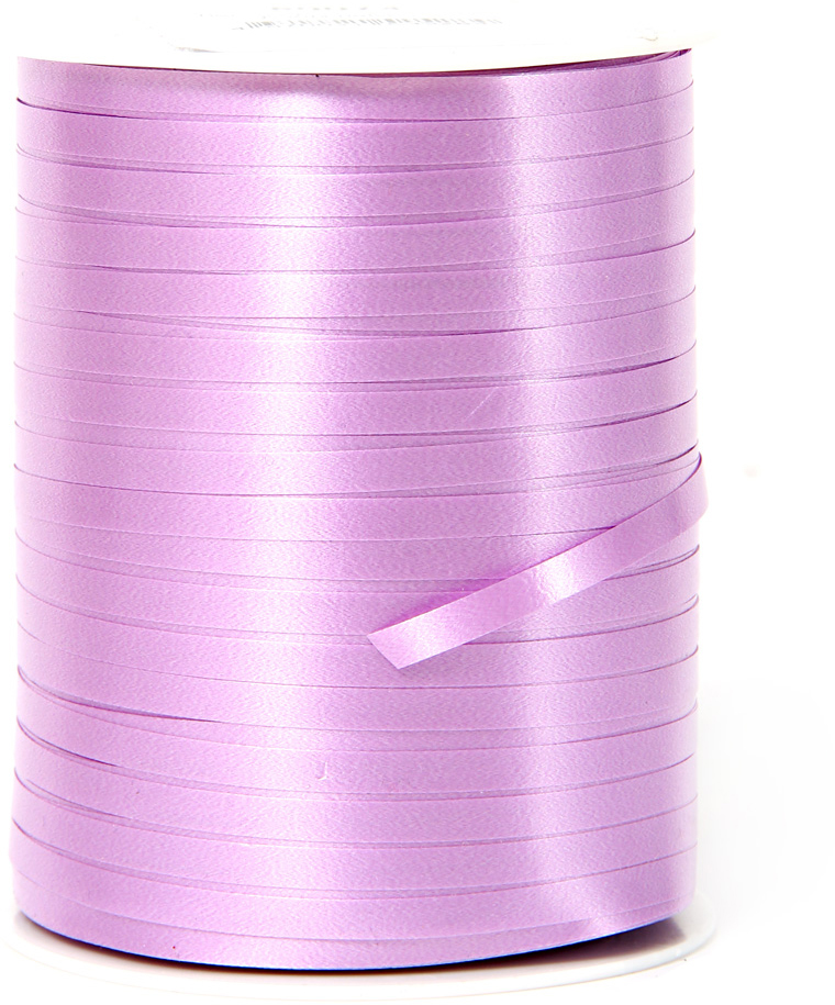 Лента полипропеленовая на бабине. Размер 0.48см х м, Цвет - лаванда. Производство Италия.