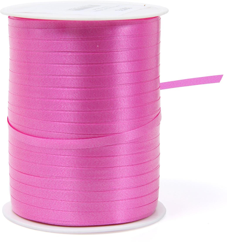 Лента декоративная Veld-Co, цвет: фуксия, 0,48 см х 500 м shagovita фуксия
