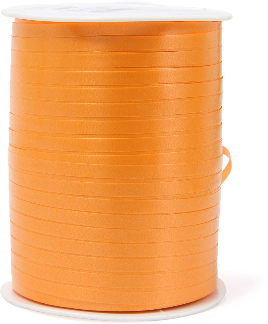 Лента полипропеленовая на бабине. Размер 0.48см х 500м оранжевая