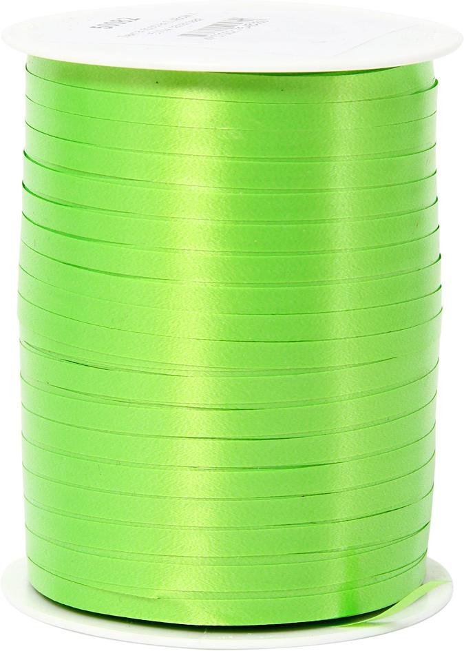 Лента декоративная Veld-Co, цвет: салатовый, 0,48 см х 500 м50082Лента полипропеленовая на бабине. Размер 0.48см х 500м салатовая