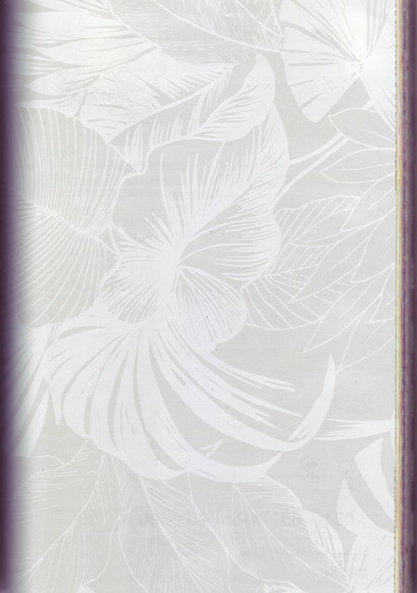 Бумага упаковочная Veld-Co  Felicita. Перламутровый папортник , 70 см х 10 м -  Подарочная упаковка