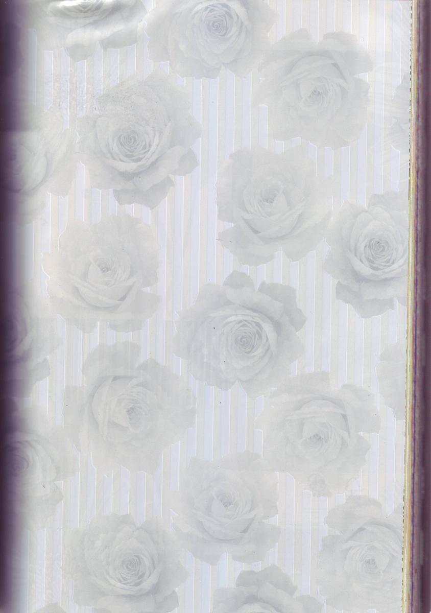 Бумага упаковочная Veld-Co  Felicita. Перламутровые розы , 70 см х 10 м -  Подарочная упаковка