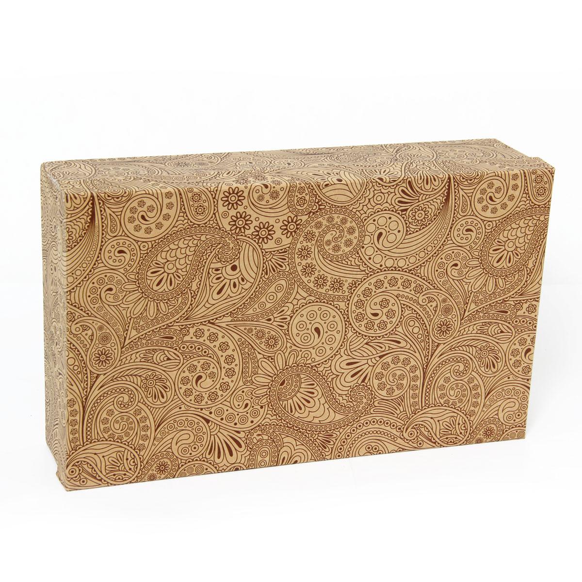 Набор подарочных коробок Veld-Co Растительный орнамент, 5 шт набор подарочных коробок veld co морская тематика прямоугольные 5 шт