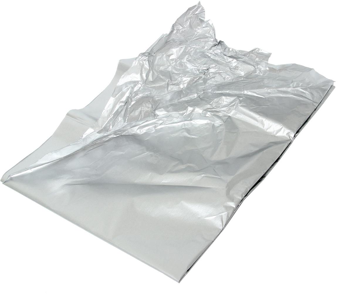 Бумага упаковочная Veld-Co Тишью, цвет: серебристый, 51 х 66 см, 10 листов50609Любой подарок начинается с упаковки. Что может быть трогательнее и волшебнее, чем ритуал разворачивания полученного презента. И именно оригинальная, со вкусом выбранная упаковка выделит ваш подарок из массы других. Она продемонстрирует самые тёплые чувства к виновнику торжества и создаст сказочную атмосферу праздника - это то, что вы искали.