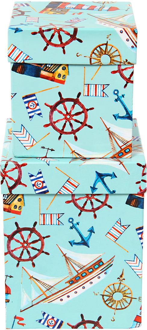 Набор подарочных коробок Veld-Co Морская гавань, под кружку, 2 шт набор подарочных коробок veld co морская тематика прямоугольные 5 шт