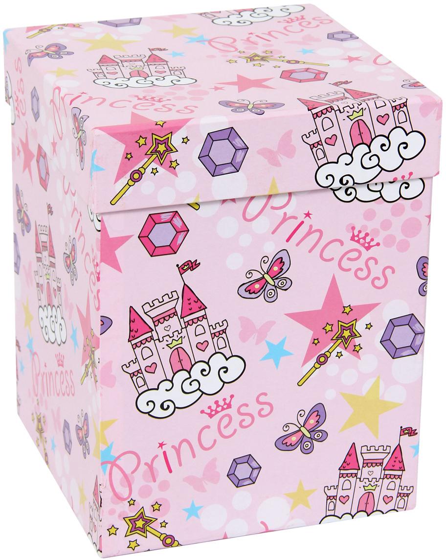 Набор подарочных коробок Veld-Co Замок принцессы, под кружку, 2 шт набор подарочных коробок veld co цветочная абстракция кубы 3 шт 53452