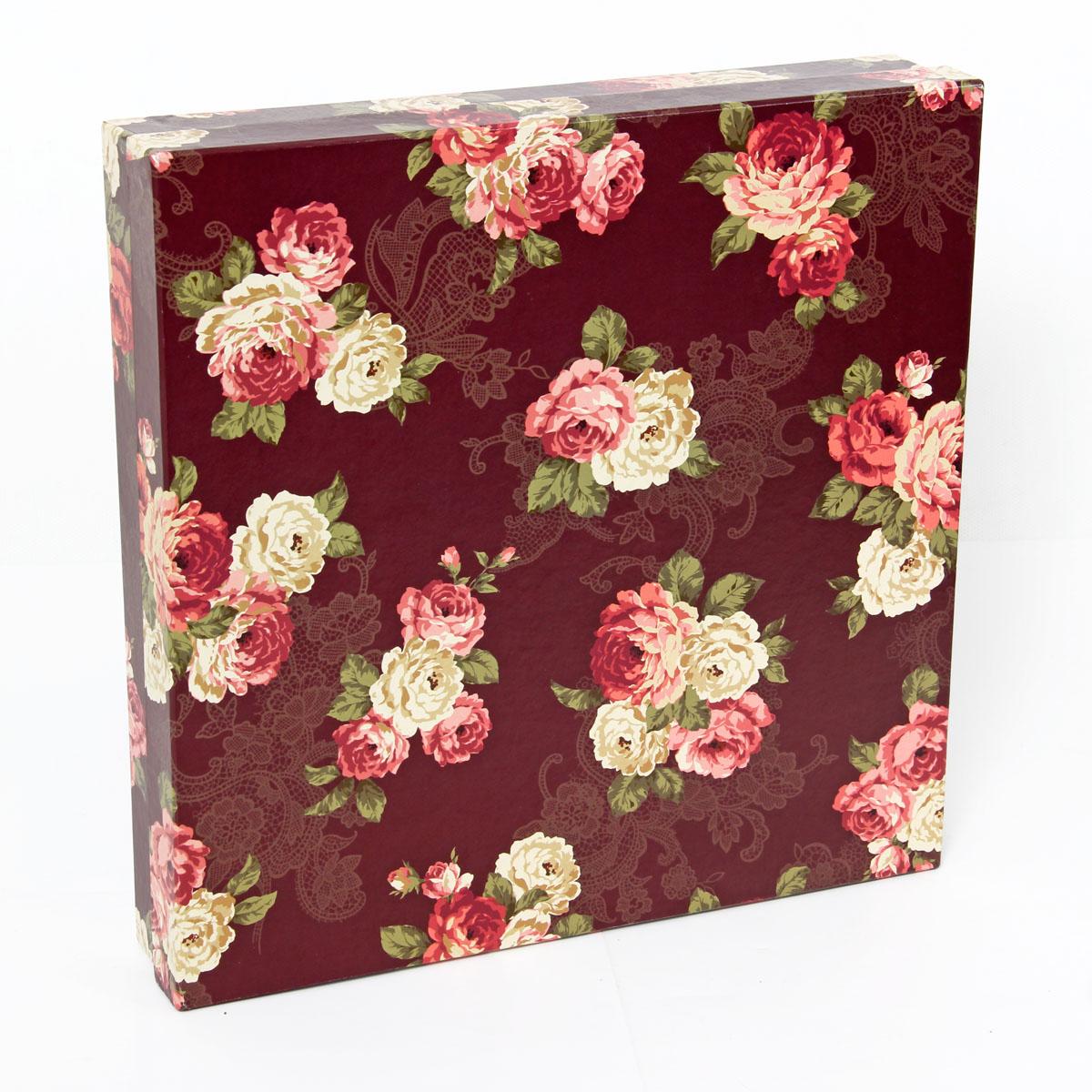 Набор подарочных коробок Veld-Co Цветочный принт, 4 шт набор подарочных коробок veld co небесные музыканты круглые 4 шт