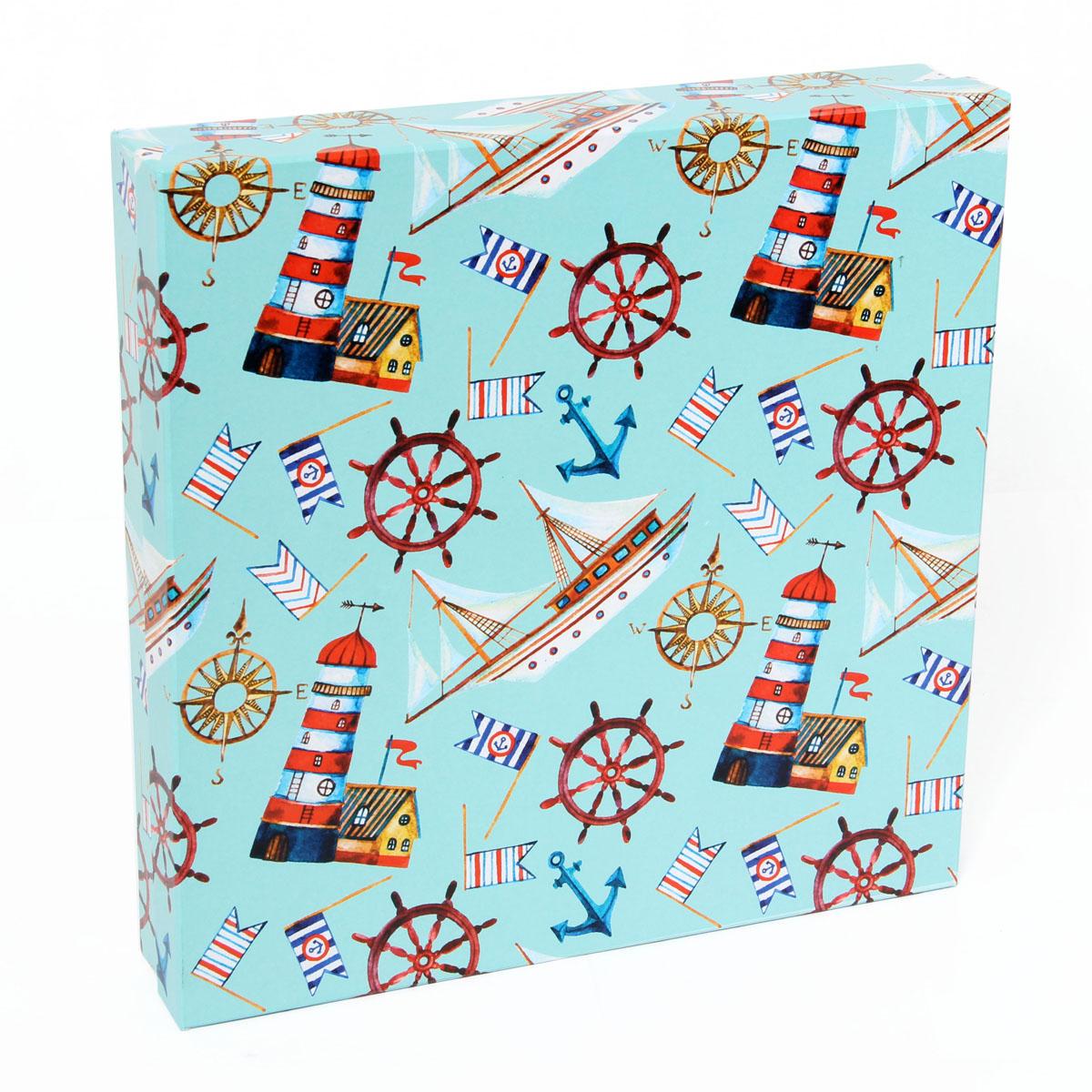Набор подарочных коробок Veld-Co Морская гавань, 4 шт набор подарочных коробок veld co морская тематика прямоугольные 5 шт