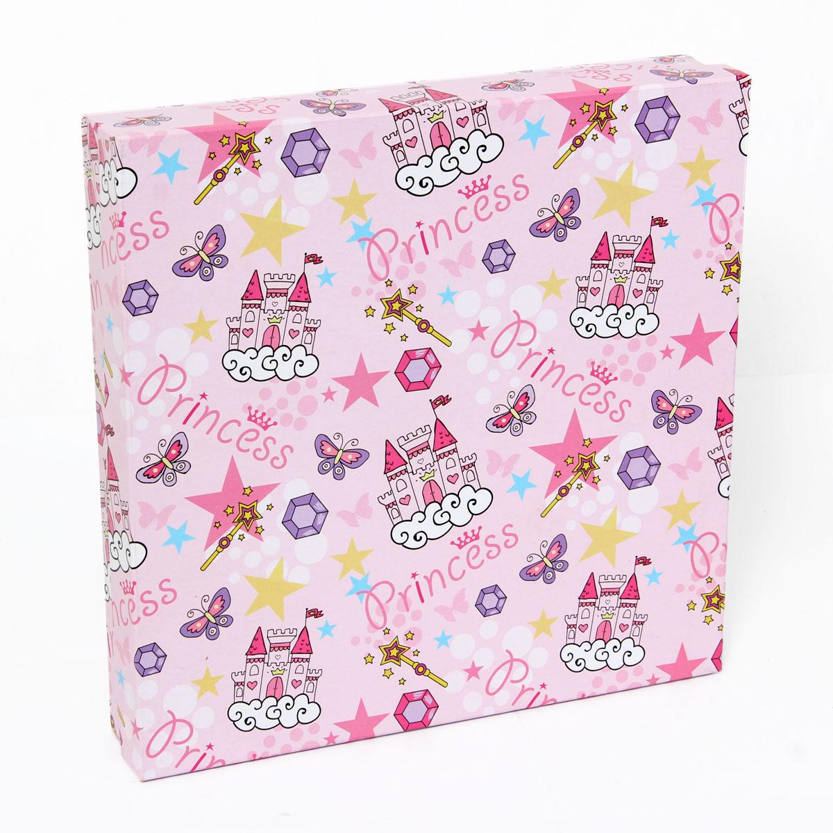 Набор подарочных коробок Veld-Co Замок принцессы, 4 шт набор подарочных коробок veld co небесные музыканты круглые 4 шт