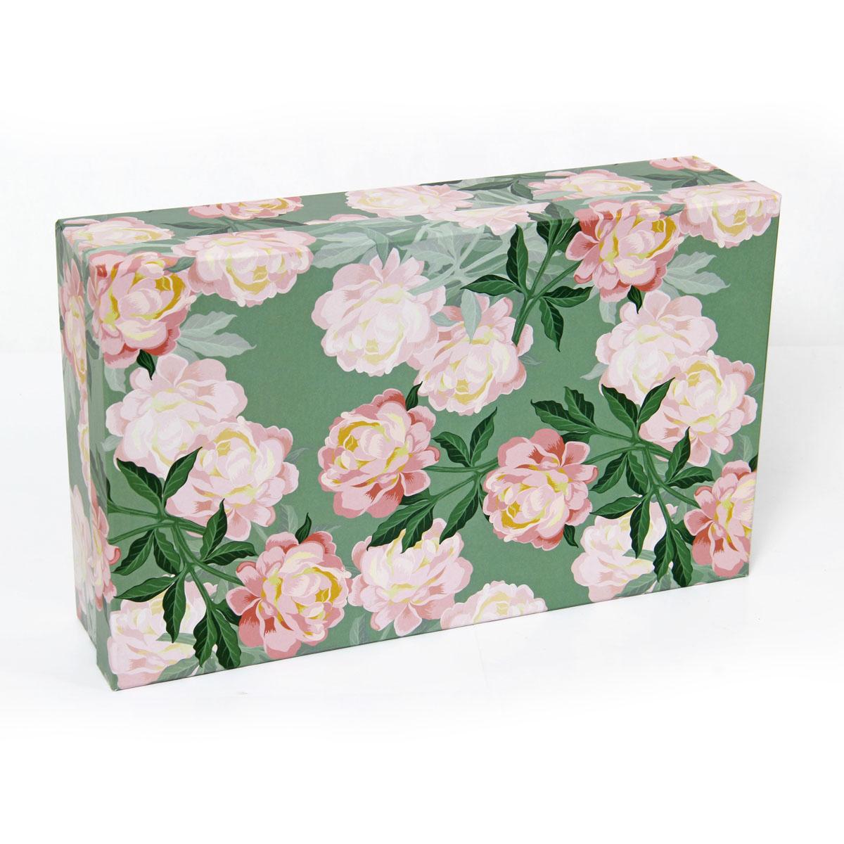 Набор подарочных коробок Veld-Co Ароматные пионы, прямоугольные, 5 шт набор подарочных коробок veld co цветочная абстракция кубы 3 шт 53452