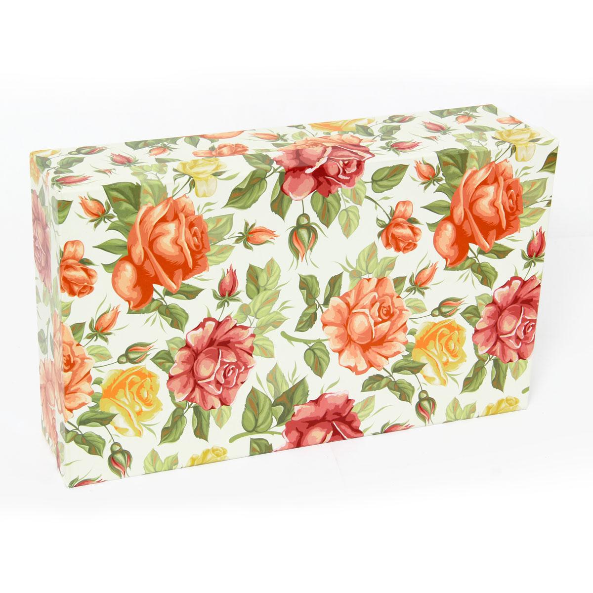 Набор подарочных коробок Veld-Co Цветущие розы, прямоугольные, 5 шт набор подарочных коробок veld co нежные розы кубы 5 шт