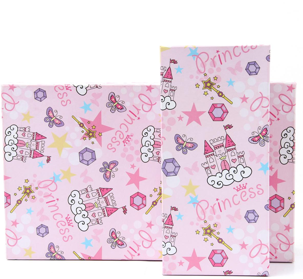 Набор подарочных коробок Veld-Co Замок принцессы, прямоугольные, 5 шт51382Подарочные коробки Veld-Co - это наилучшее решение, если выхотите порадовать ваших близких и создать праздничное настроение, ведь подарок, преподнесенный в оригинальной упаковке, всегда будет самым эффектным и запоминающимся. Окружите близких людей вниманием и заботой, вручив презент в нарядном, праздничном оформлении.