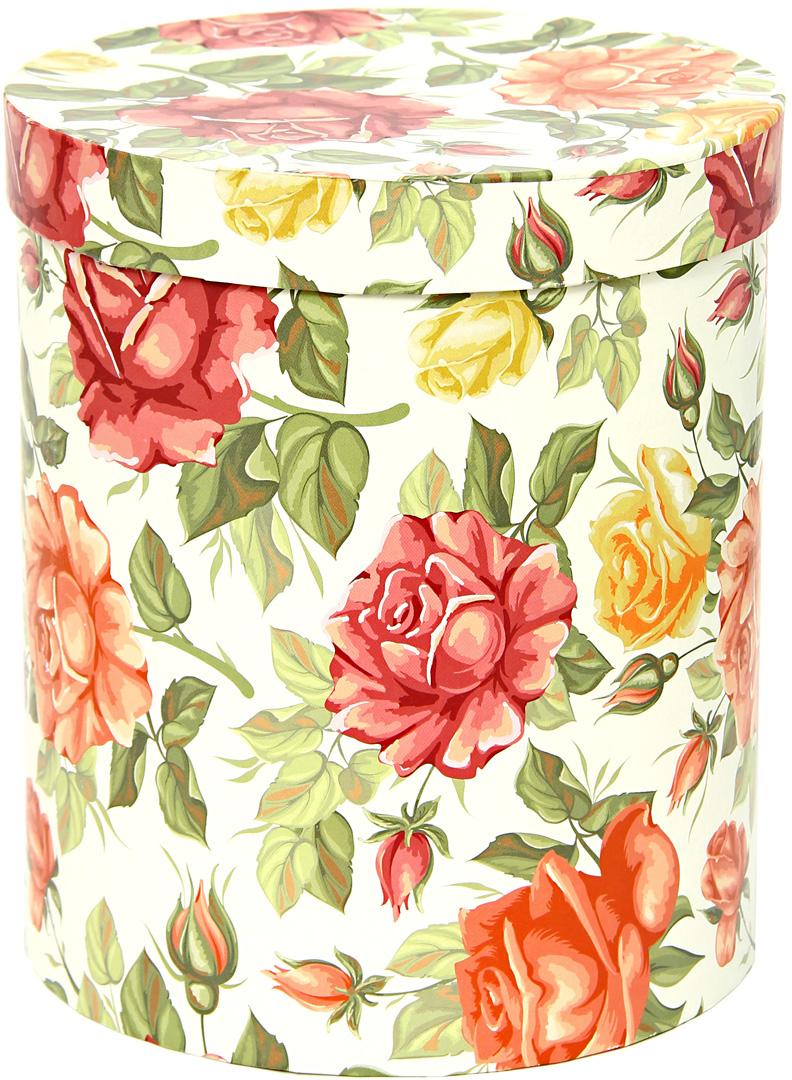 Коробка подарочная Veld-Co Цилиндр, для цветов, 17 х 17 х 20 см. 51401 аксессуары veld co набор переводных татуировок черепа